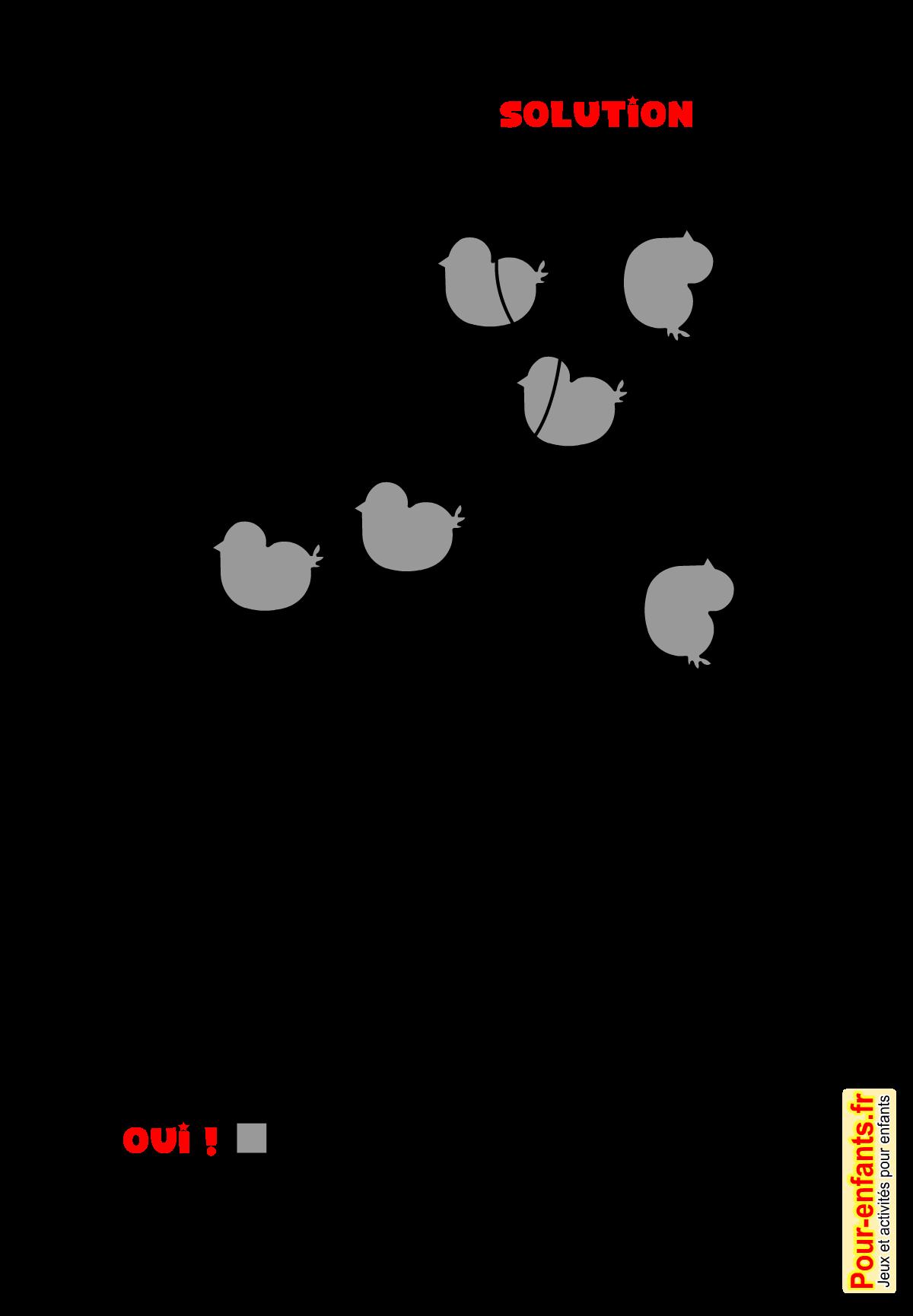 Jeux de p ques imprimer solution jeu d 39 observation gratuit paques enfants jeux de p ques - Images de paques a imprimer ...