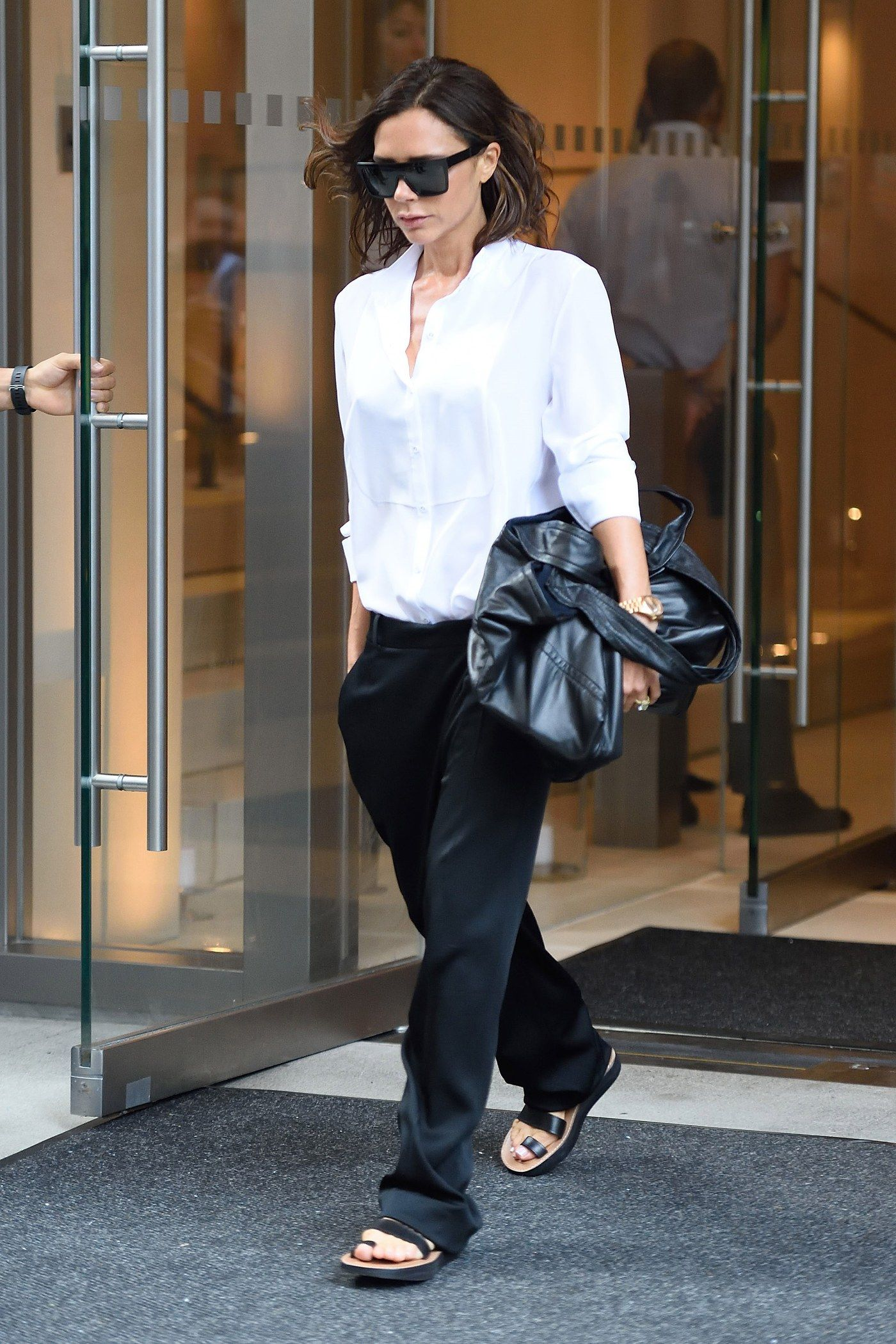 Victoria Beckham Steps Out In Her Best New York Street