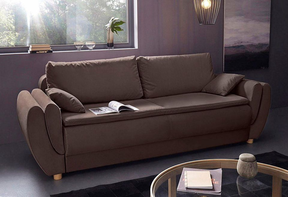 Places Of Style Boxspring Schlafsofa Lausanne Mit Bettkasten Jetzt