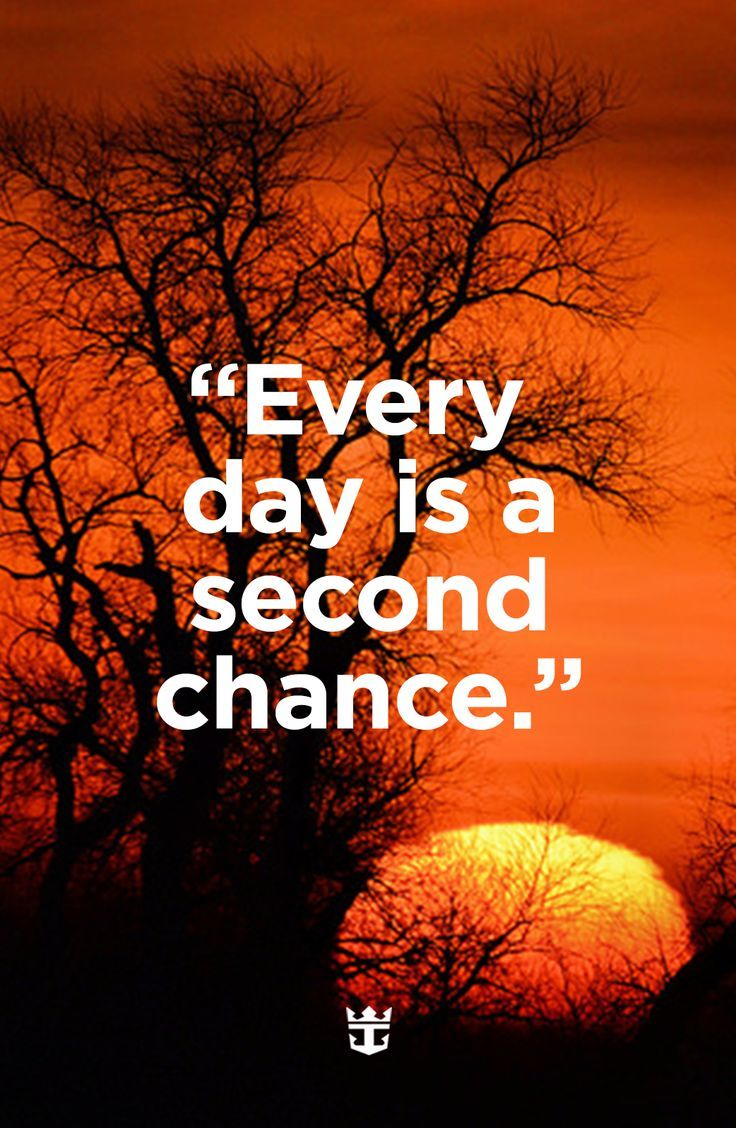 Always a second chance. #quote #royalcaribbean | Royal