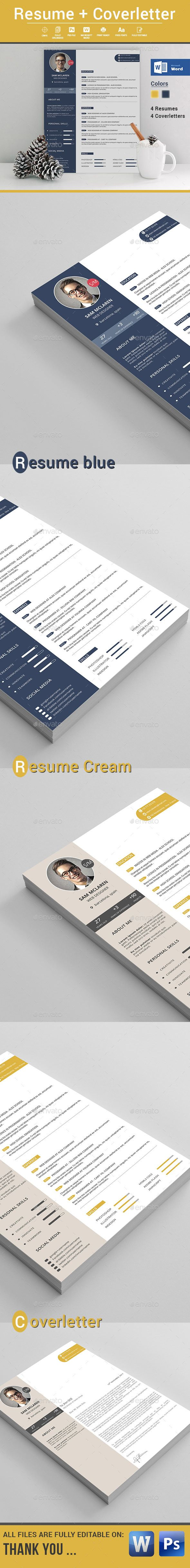 Resume  Psd Templates Resume Cv And Cv Template
