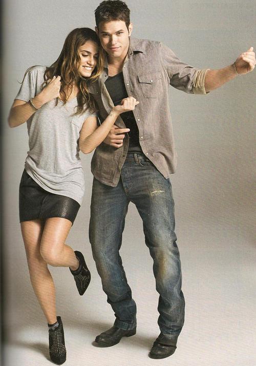 Kellan Lutz and Nikki Reed (com imagens)   Crepusculo ...