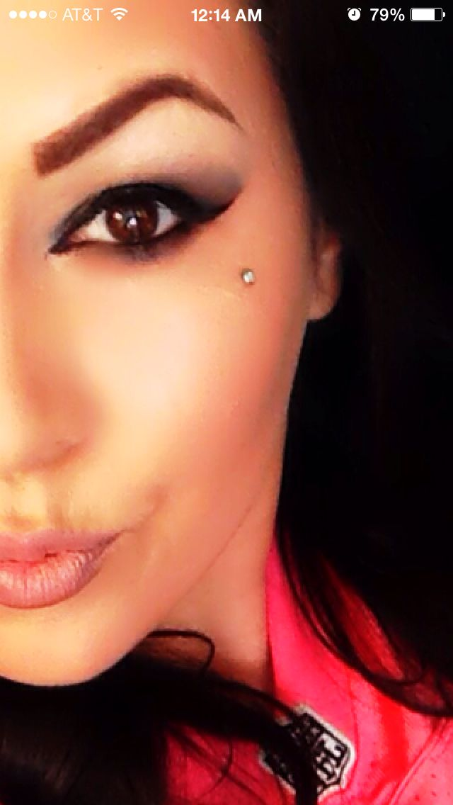 Face Dermal Love This Placement But Wouldnt Do It Tattoos