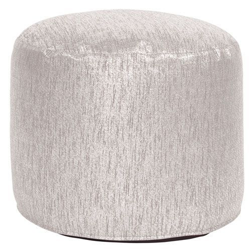 Glam Sand Tall Pouf Ottoman Ottomans And Products Inspiration Tall Pouf Ottoman