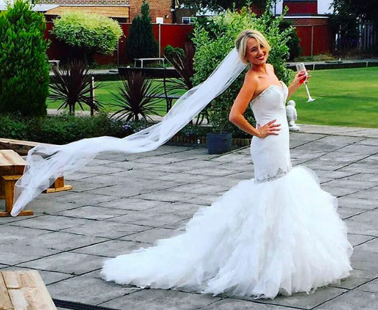 Now that is how you pull off a mermaid wedding dress! This Morilee ...