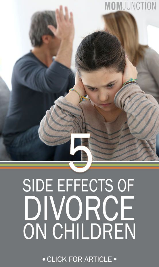 impacts of divorce on child