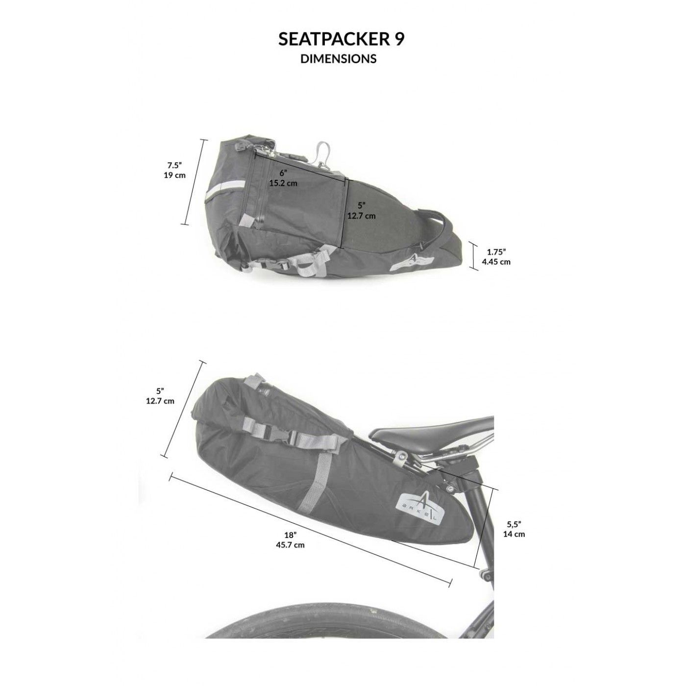 bikepacking seat bag Seatpacker 9 model by Arkel | MTB | Pinterest ...