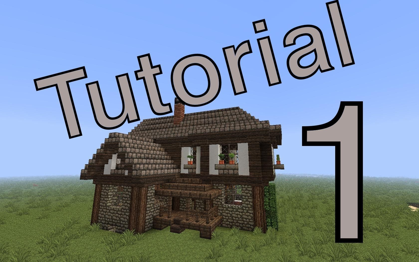 Minecraft tutorial mittelalter haus 1 deutsch for Kleines minecraft haus