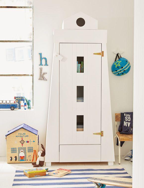 Bringen sie mit dem kinderschrank im leuchtturm design abwechslung ins kinderzimmer jetzt die - Kinderzimmer auto design ...