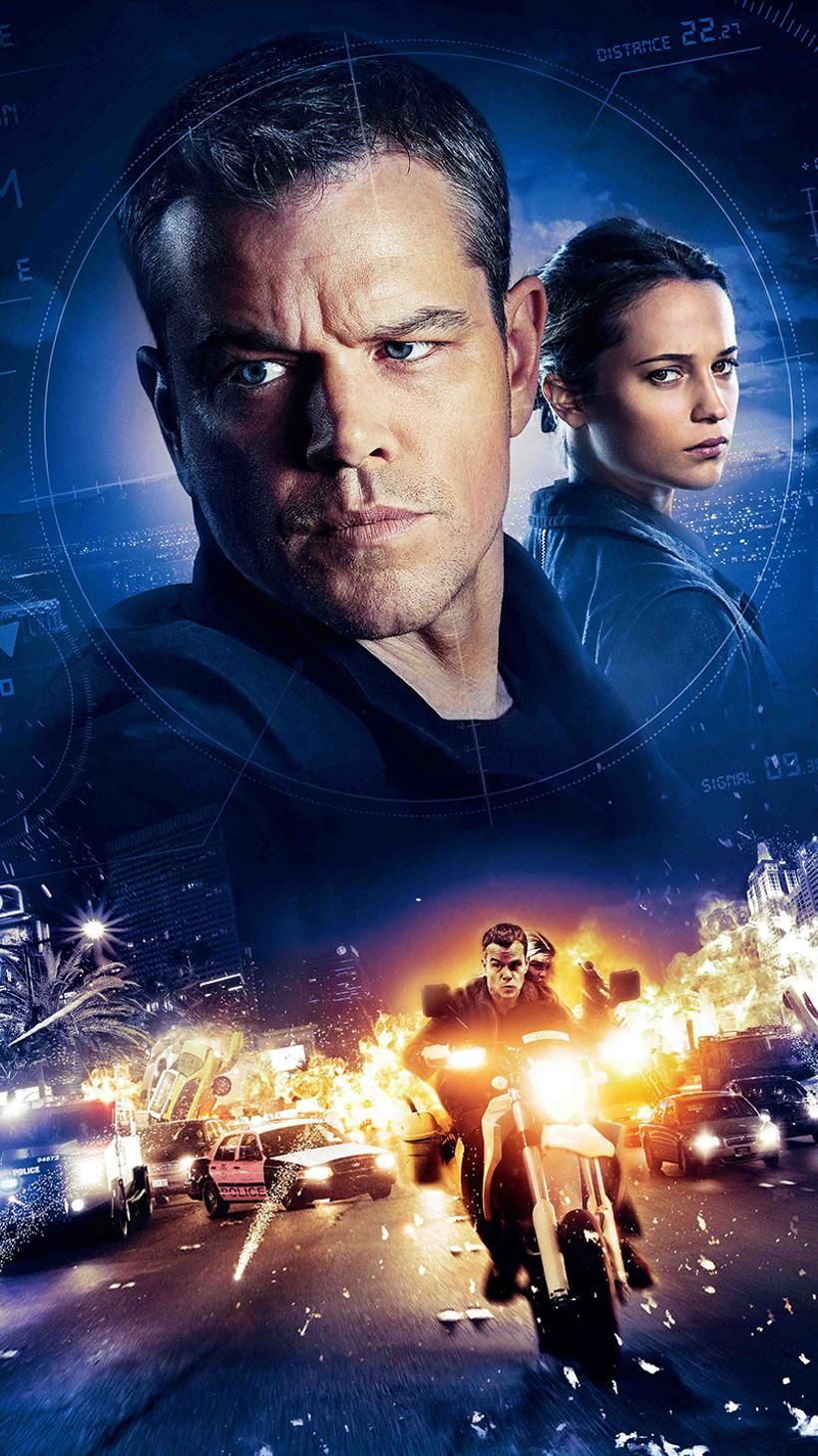 Prison Break Phone Wallpaper Moviemania Jason Bourne Jason Bourne 2016 Bourne Movies