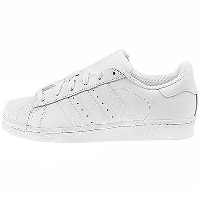 adidas superstar gs white black foundation junior