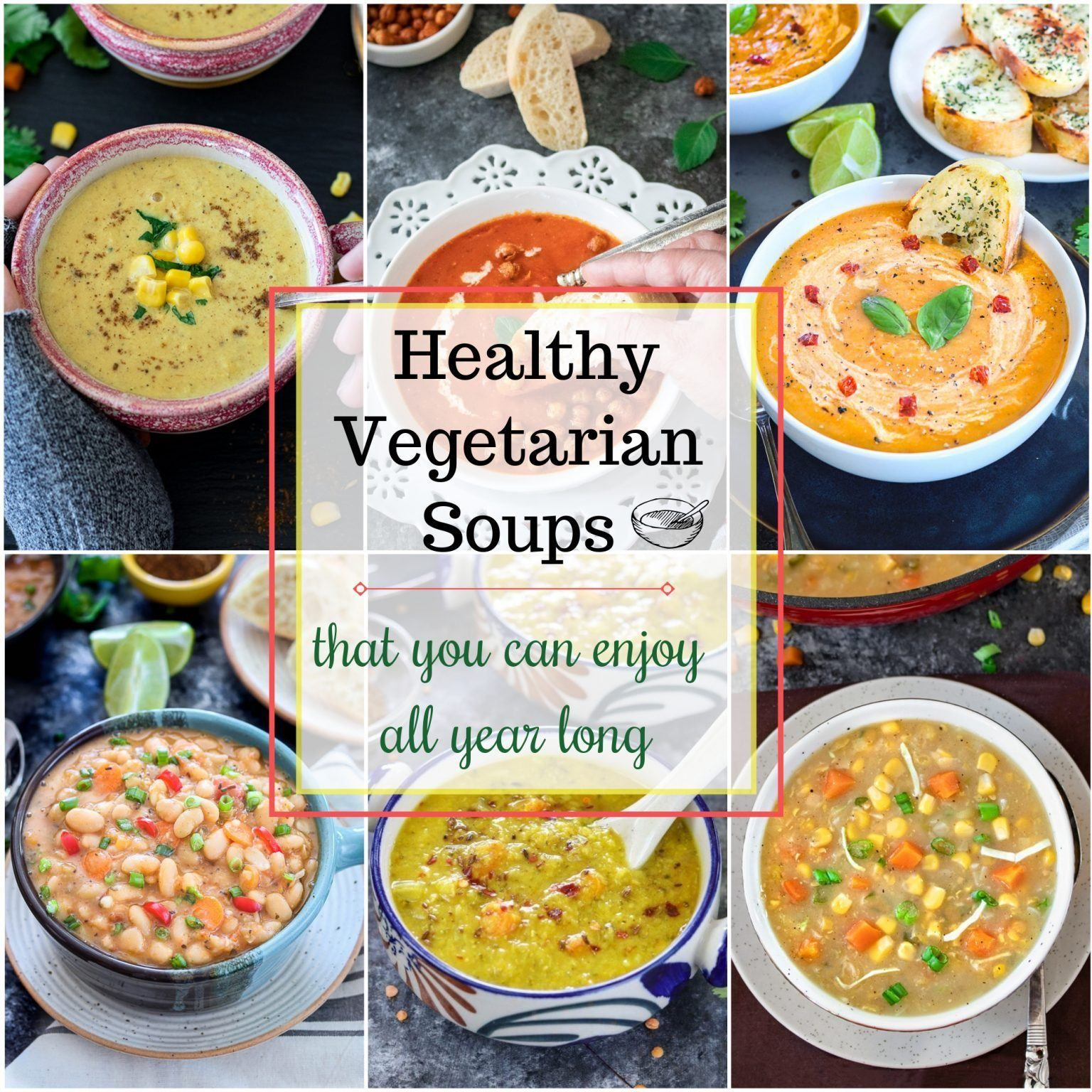 Easy instant pot soups vegetarian soups