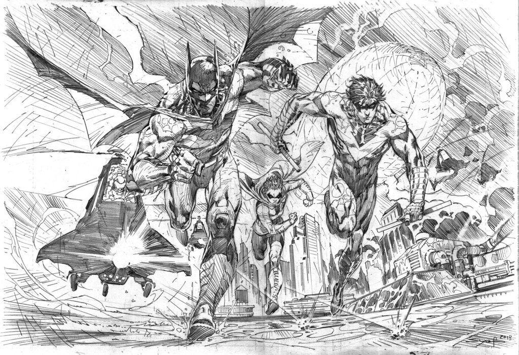 Bats Under Fire by ardian-syaf
