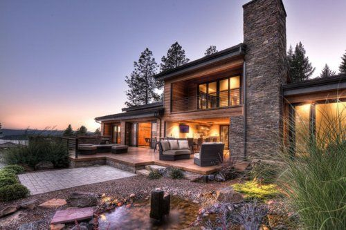 Awesome Houses! - Contemporary Lake House | green thumb ...