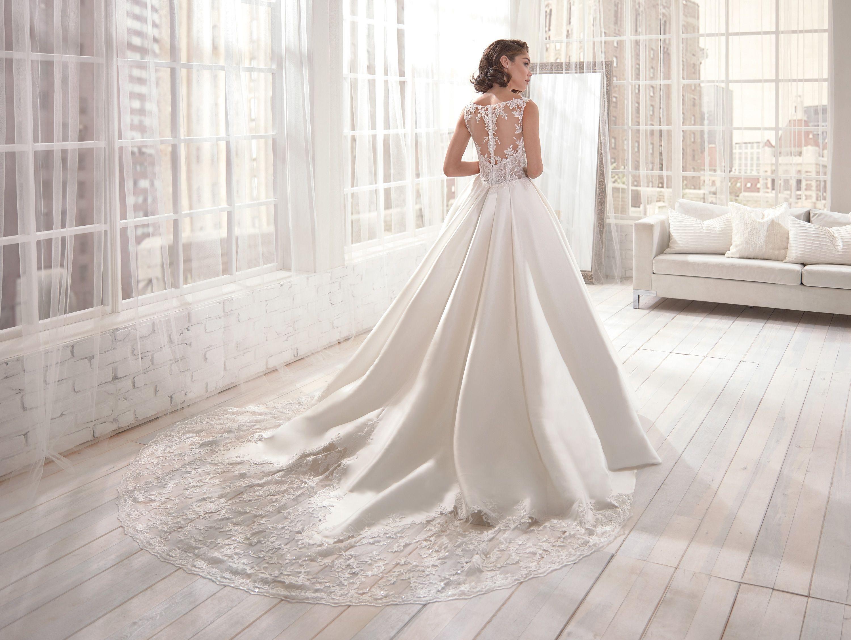 Vestiti Da Sposa Jolies.Abito Da Sposa Jolies Joa20531 2020 Abiti Da Sposa Sposa Alta
