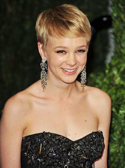 Short hair, big earrings!   i adore celebrities ...
