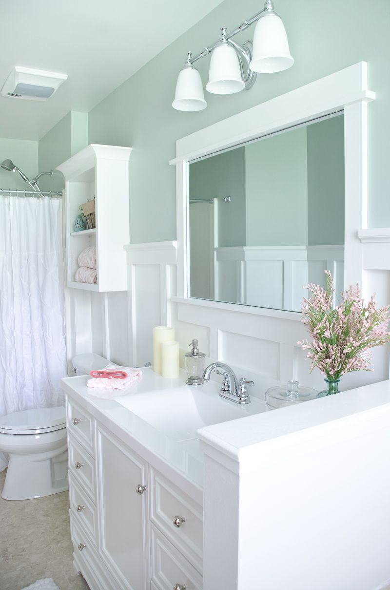 Lowe S Bathroom Makeover Reveal With Images Bathroom