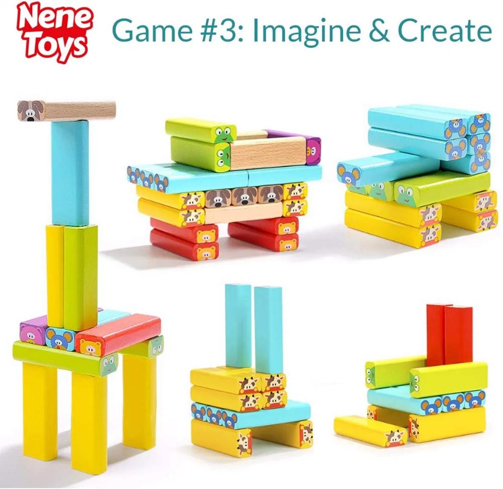 Nene Toys - Pädagogisches Kinderspiel ab 3 Jahre ...