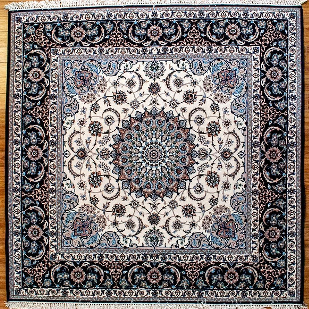 Isfahan Square Rug Is An