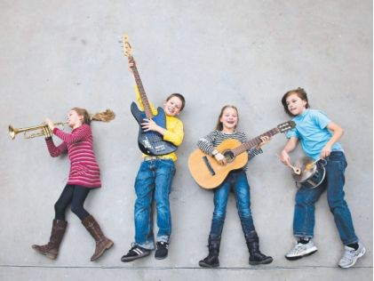 """We know that music brings joy and solace, and makes us feel happy,"""" Spencer says. """"But research has also discovered music plays a powerful role in the cognitive development of children. Music inspires creativity, imagination and self-expression. It also builds self-esteem and is good for memory skills."""""""