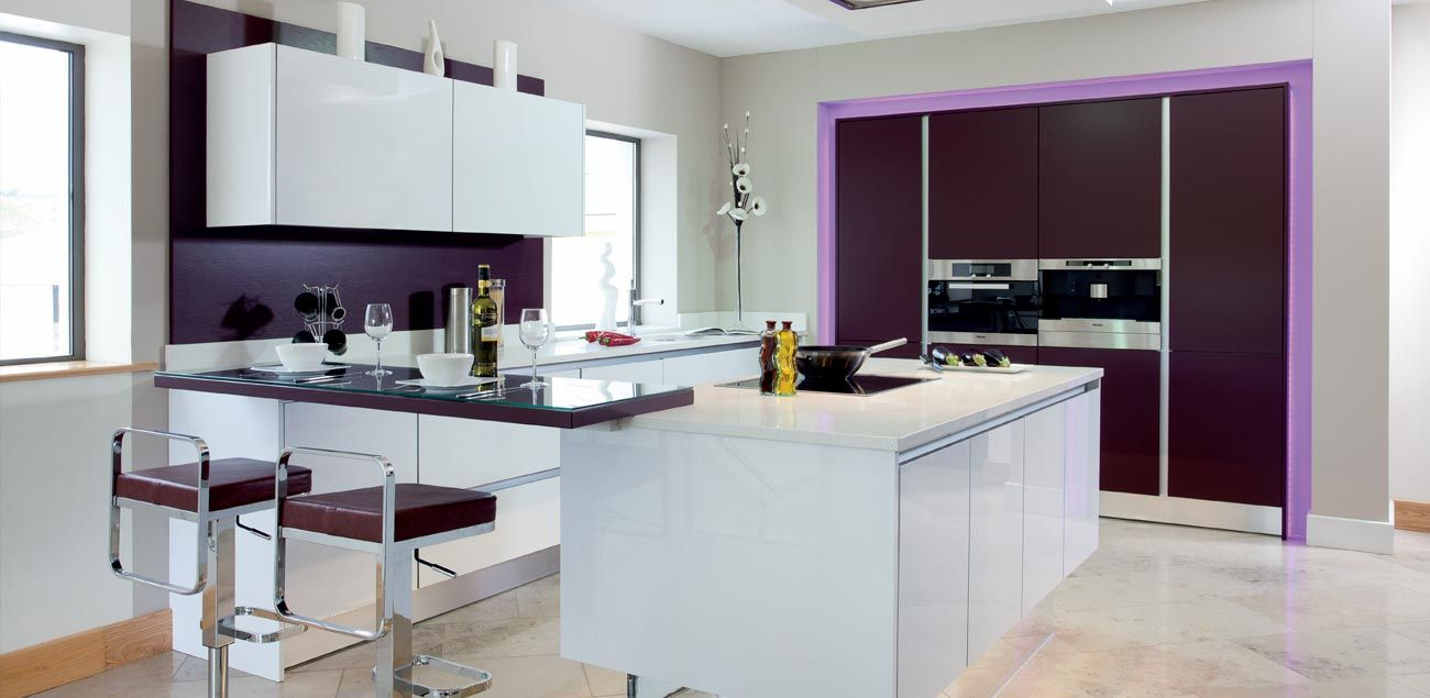 Nobilia Lux Oder Focus Greenhill Kitchens County Tyrone Northern Ireland Contemporary