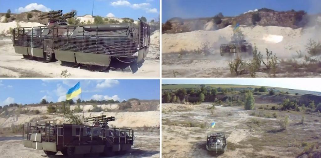 BTR as seen in Ukraine