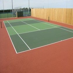 Just Pinned To Sports Court Costs Sports Court Acrylic Paint In Tennis Court Tennis Tennis Court Design