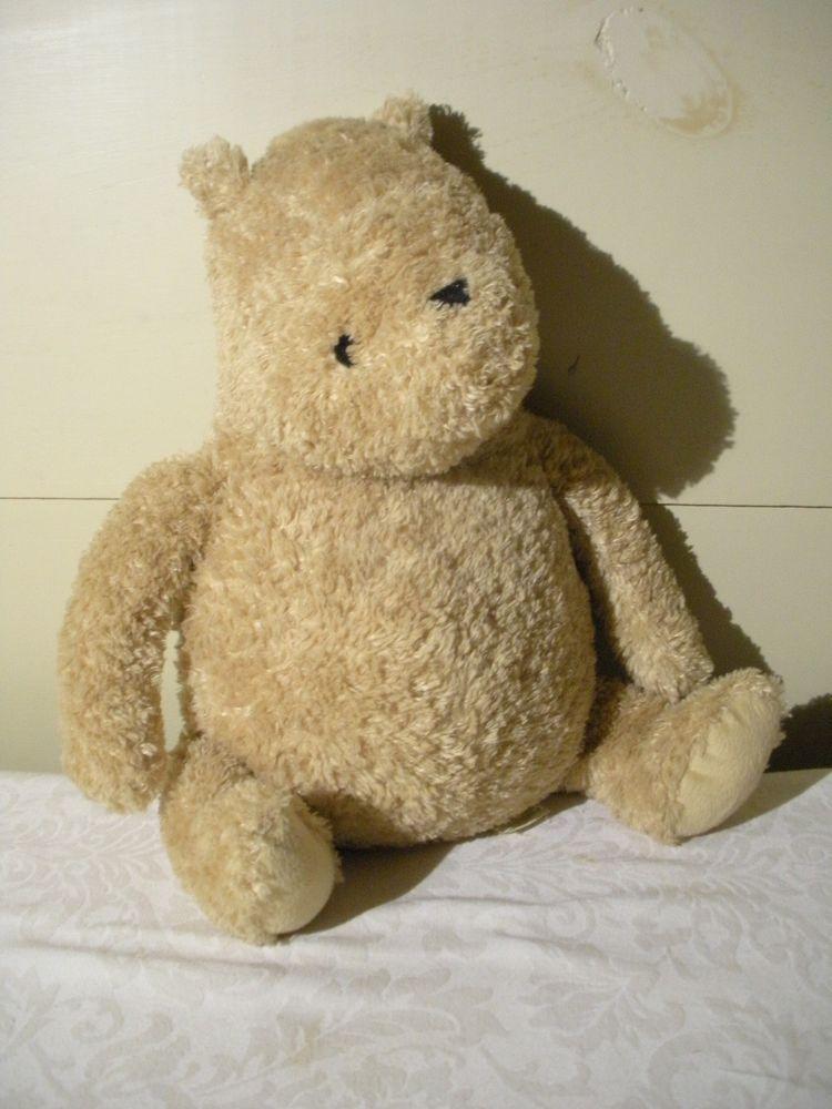 Vintage Disney Classic Pooh Winnie The Pooh Plush Doll Bear