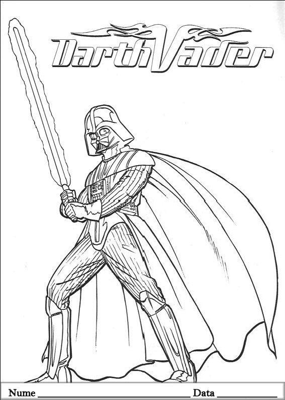 Star Wars Planse De Colorat Si Educative Cool Coloring Pages Coloring Pages Free Coloring Pages