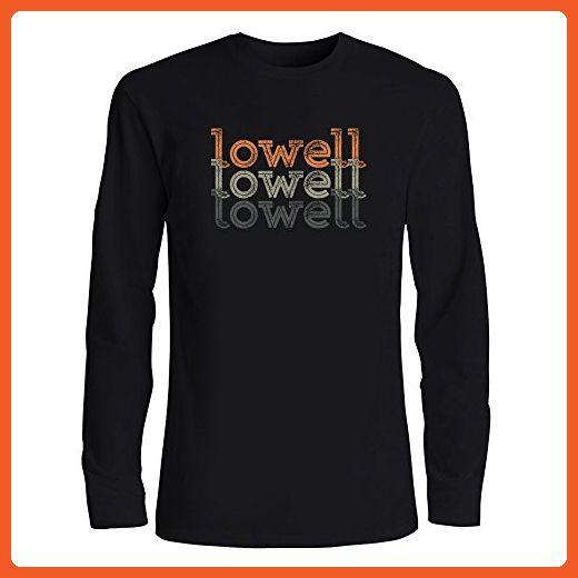 91a40c3a8 Idakoos - Lowell repeat retro - Male Names - Long Sleeve T-Shirt - Retro  shirts (*Partner-Link)