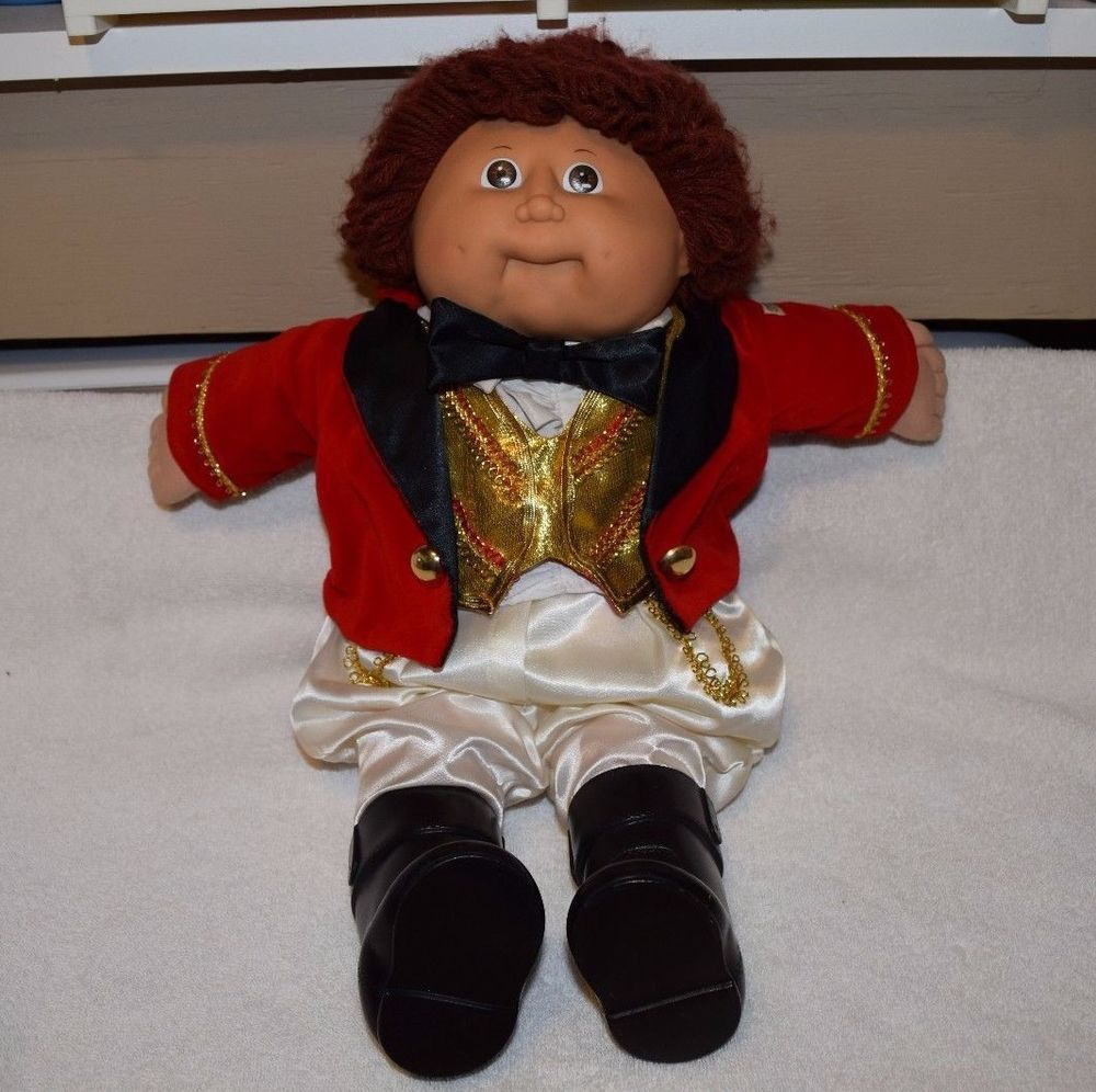 Vintage 1986 Cabbage Patch Kids Doll Circus Kid Ringmaster Ring Master Euc Vintage Cabbage Patch Dolls Cabbage Patch Kids Dolls Cabbage Patch Kids