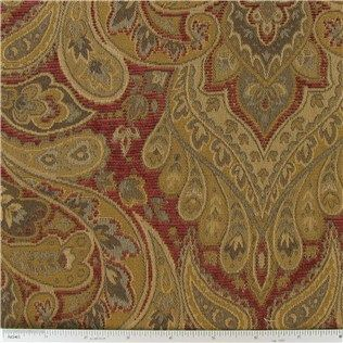Dec Paisley Home Decor Fabric Hobby Lobby 8 Yards Needed For Kitchen