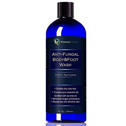 Antifungal Soap Body Foot Wash 12 Oz With Tea Tree Oil 100 Natural