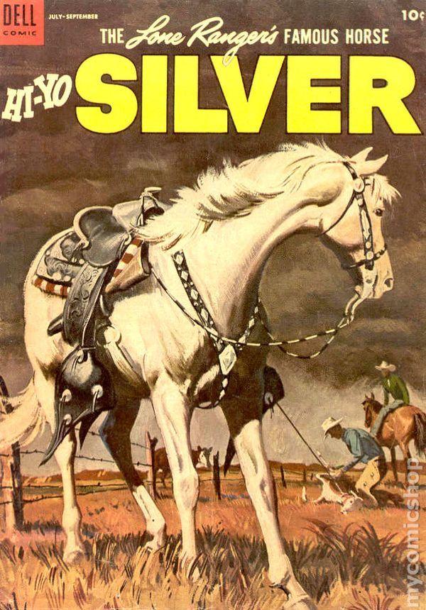 Hi-Yo Silver Comic Book art by Sam Savitt