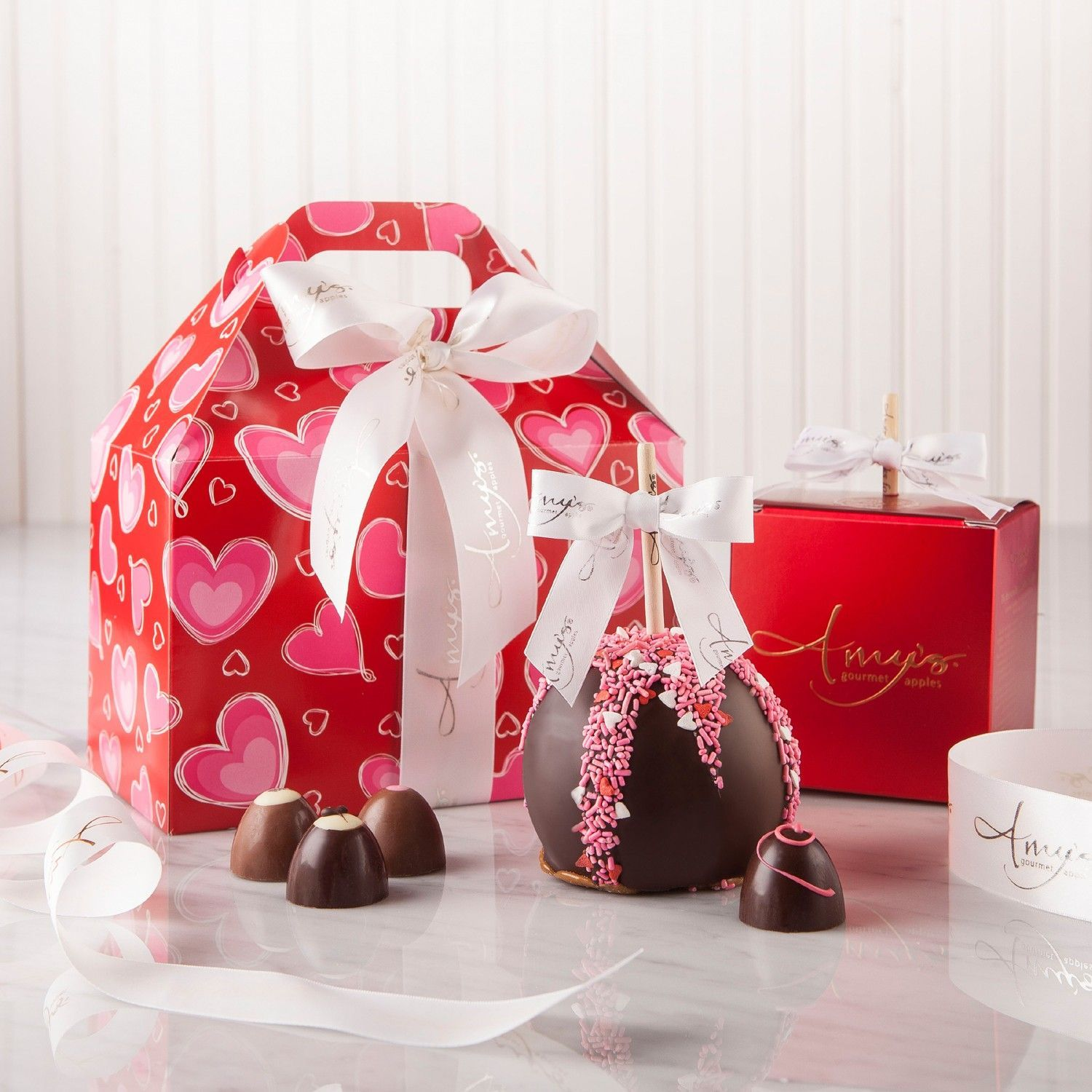 "Say ""Happy Valentine\'s Day"" with this elegantly wrapped Valentine\'s ..."