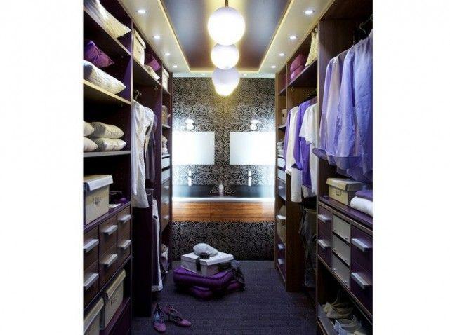 salle de bain dressing - Recherche Google   Déco chambre dressing ...
