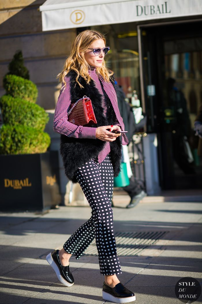 Haute Couture Spring 2016 Street Style: Olivia Palermo ...