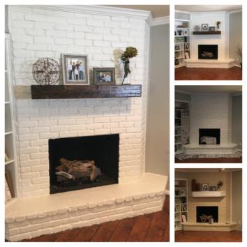Rustic Fireplace Shelf Mantel In 2020