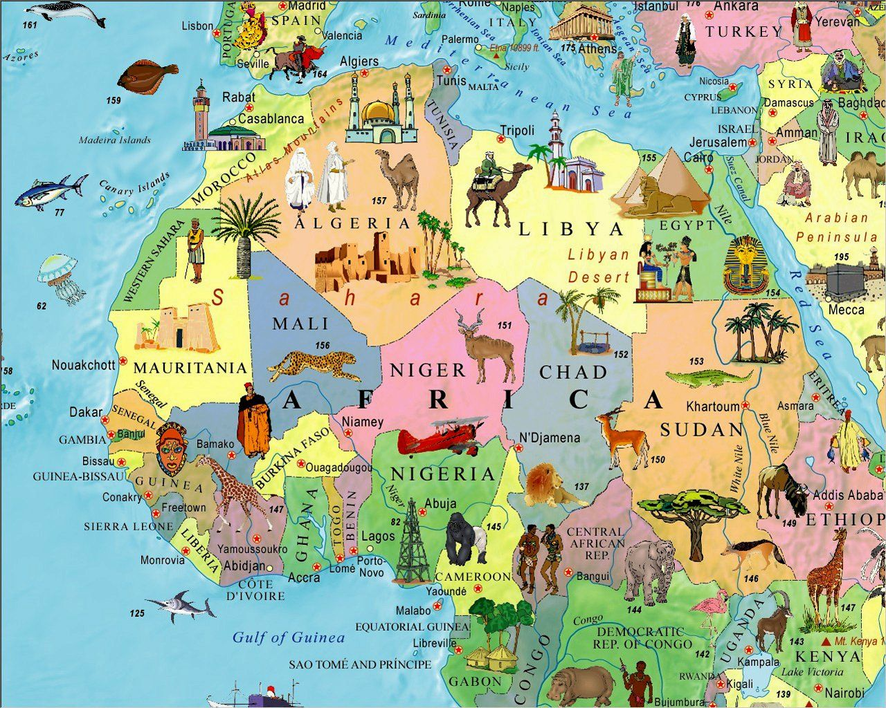 Illustrated map of the world for kids childrens world map akros illustrated map of the world for kids childrens world map akros 9789871663026 gumiabroncs Images