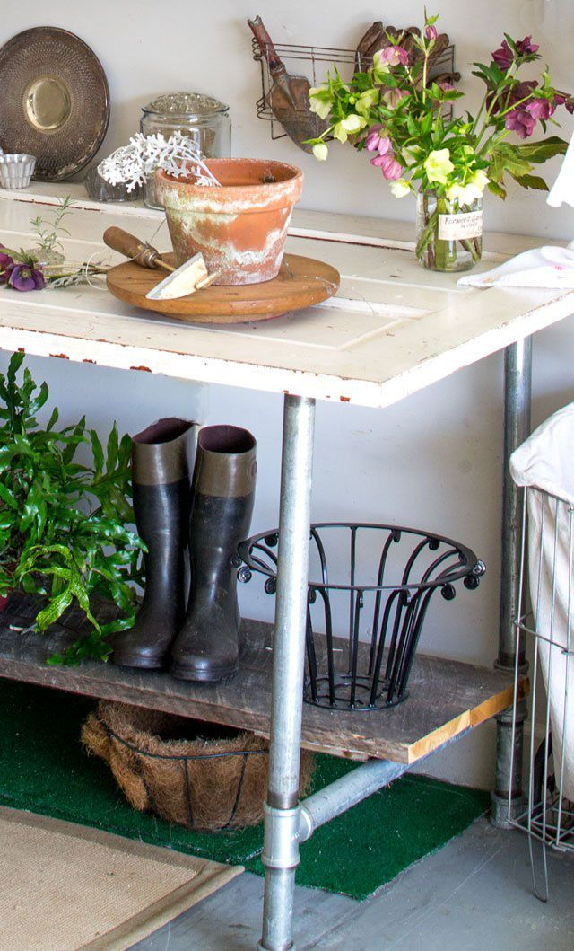 Potting Bench And Table Ideas Bench, Porch and Decking
