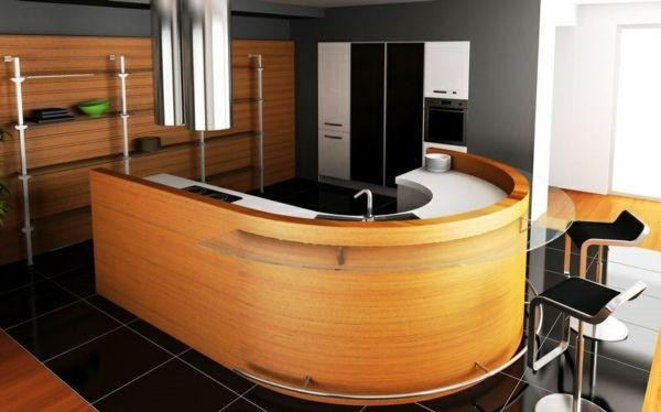 Bartheke für eine funktionale und vollendete Kücheneinrichtung ...