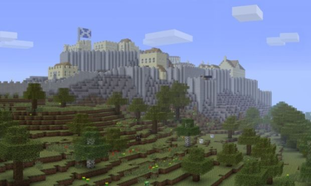 Edinburgh Castle In Midlothian Midlothian With Images