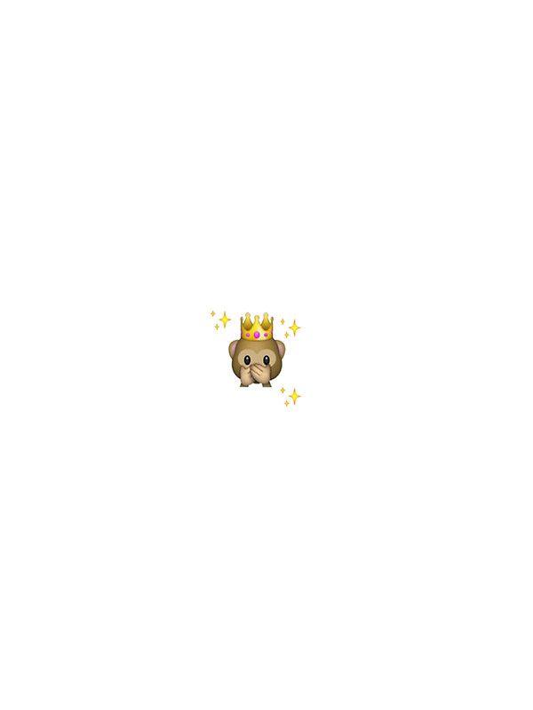 Crown Monkey Emoji By Daniellacurcio Emoji Wallpaper Emoji Wallpaper Iphone Monkey Emoji Wallpapers