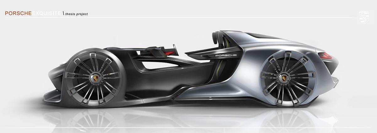 Porsche Exquisite - Thesis Project on Behance