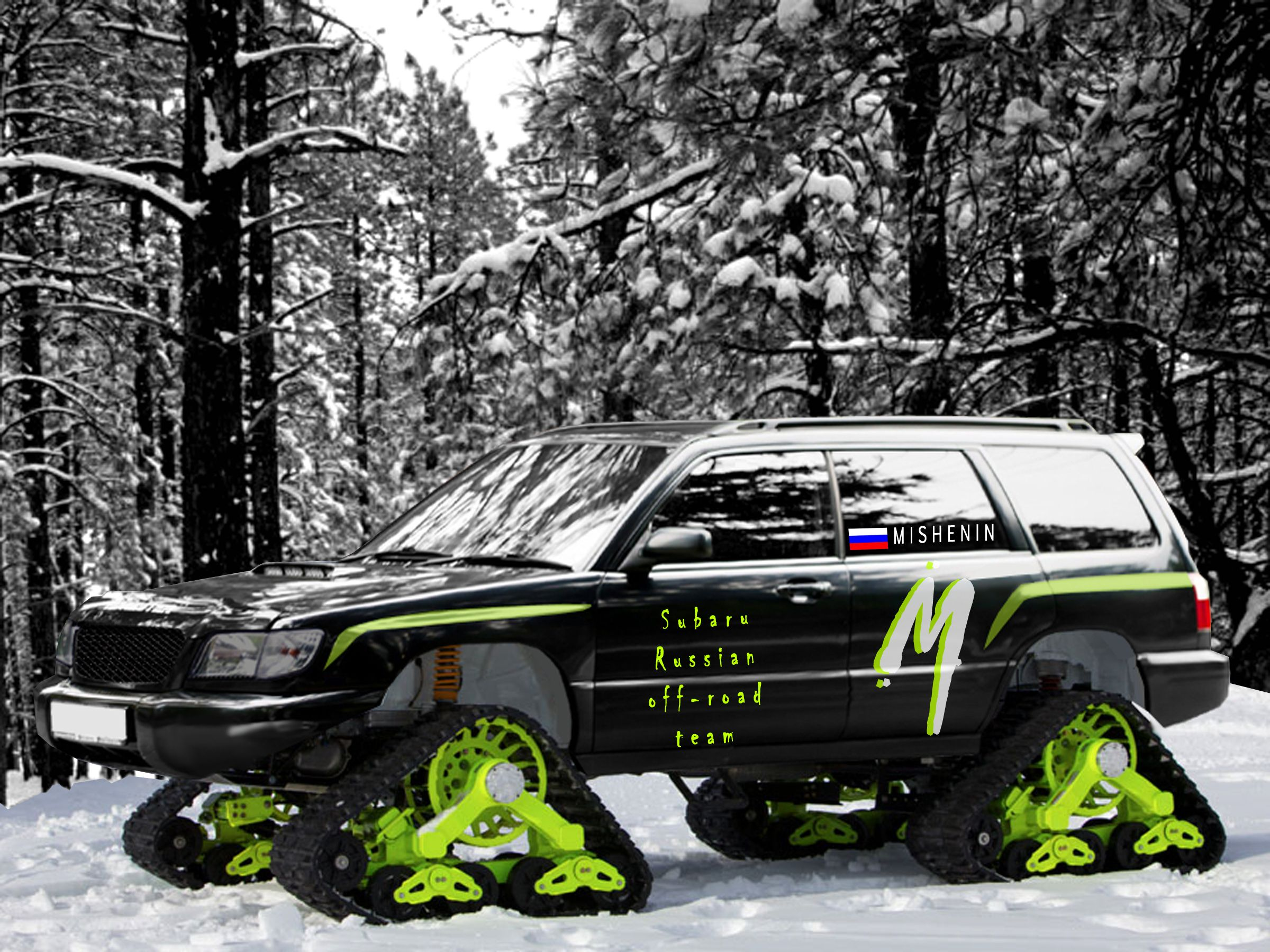 Pic post off road pictures subaru forester owners forum subaru forester off road by deviantart vanachro Gallery