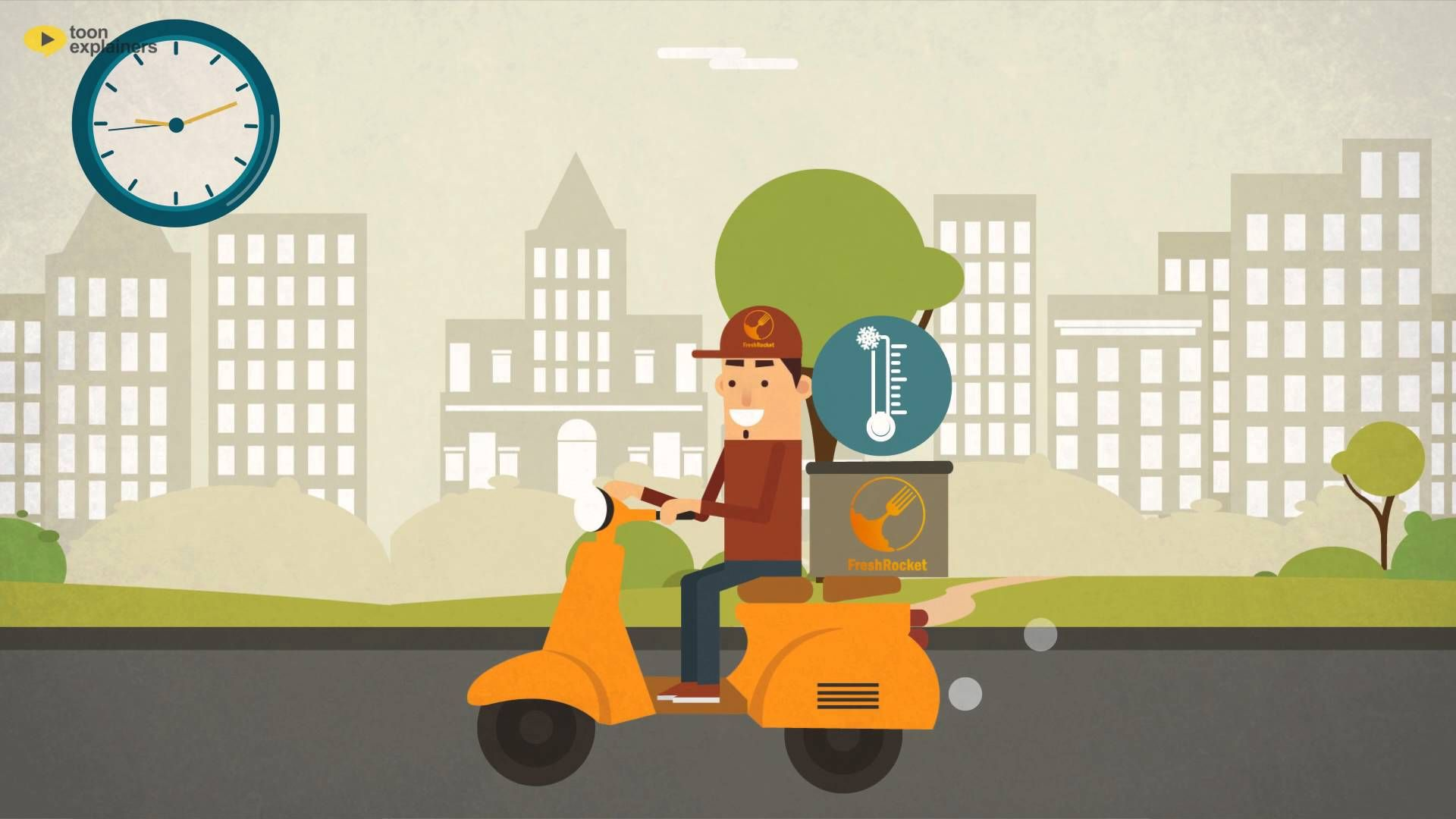 Freshrocket On Demand Meat Delivery Meat Delivery Animation