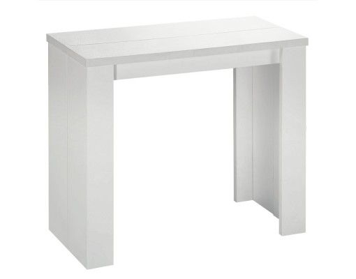 Table Console Brookline Blanc Menzzo Fr
