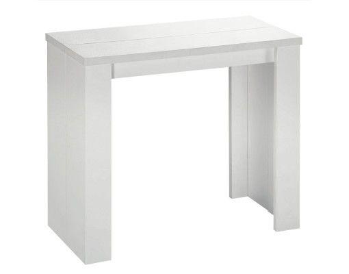 Table Console Brookline Blanc menzzo.fr | wishlist déco ...