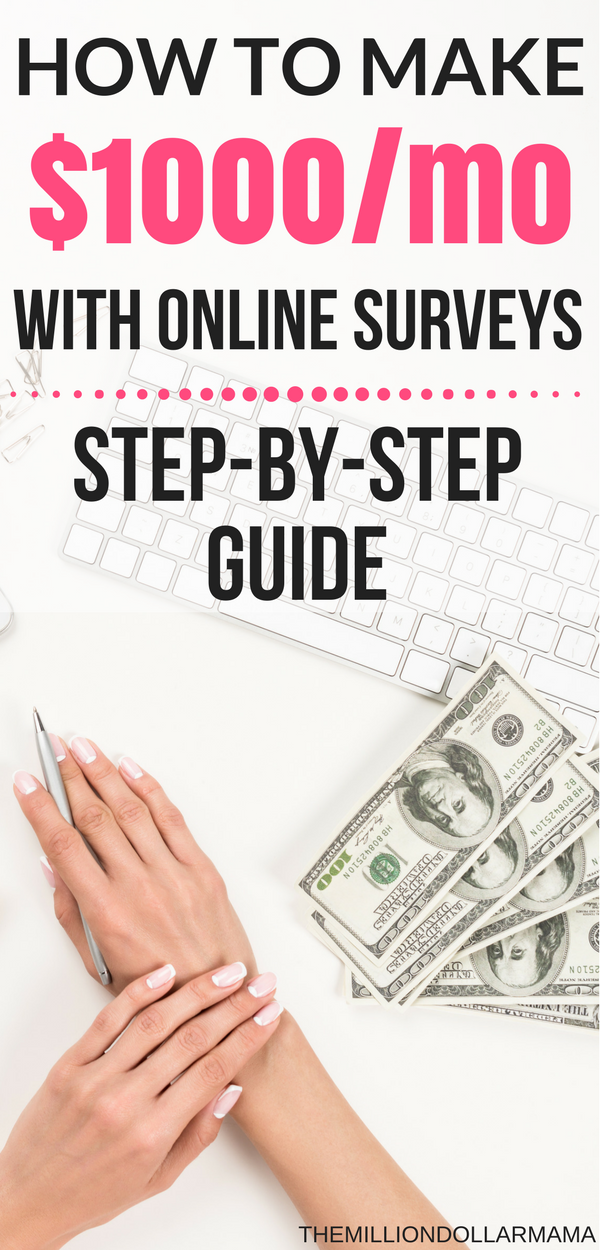 How To Make 500Month With Online Surveys - A Step-By -8762