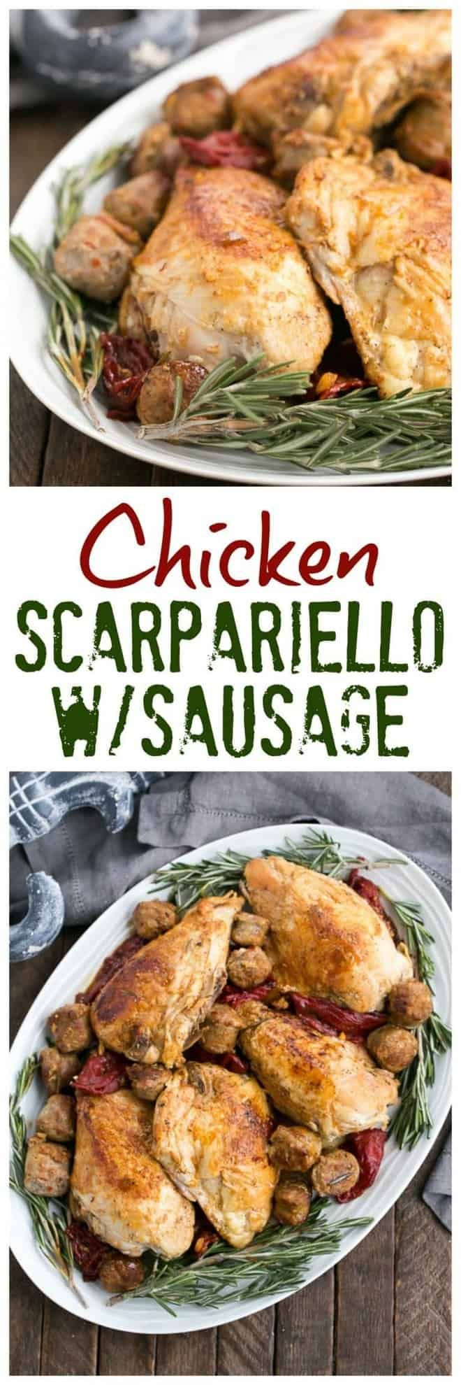 Chicken Scarpariello with Sausage